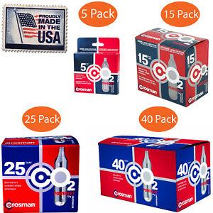 CO2-Cartridge-12g-Crosman-For-Gas-Powered-Gun-Pellet-Airsoft-USA-Made-Powerlet