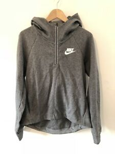a3dbc6e89ef7 NEW NIKE WOMENS GREY HOODED GYM SPORTS TOP JUMPER HOODIE SIZE SMALL ...