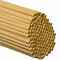 Wooden Dowel Rods - 5/16 X 36 Unfinished Hardwood Sticks - For Crafts And D...