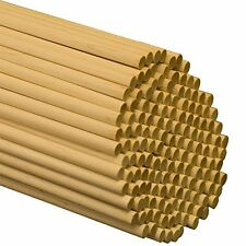 "Wooden Dowel Rods - 5/16"" x 36"" Unfinished Hardwood Sticks - For Crafts and D..."