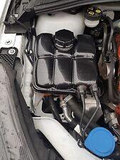 Ford Focus MK3, Facelift headertank cubierta y tapa de plástico ABS de Fibra de Carbono Efecto
