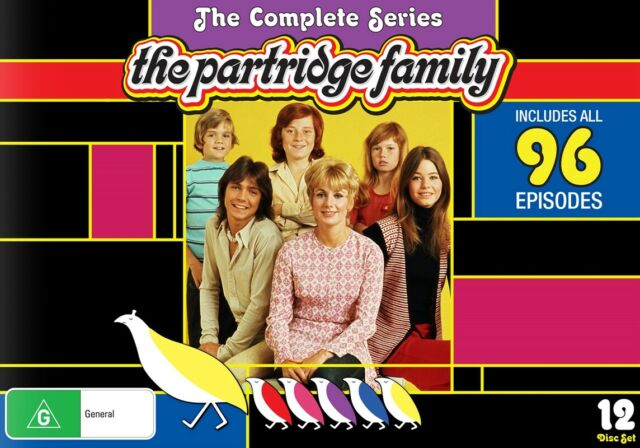 The PARTRIDGE FAMILY : Complete Series 1-4 : NEW DVD