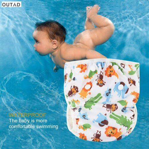 Swim Nappy Swimmer Boy Adjustable Girl Baby Reusable AU Kids Pant Diaper Toddler