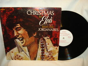 Elvis-Presley-Christmas-to-Elvis-From-The-Jordanaires-Vinyl-LP-Album-Excellent