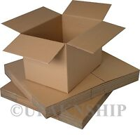 100 6x6x4 Cardboard Shipping Boxes Corrugated Box Cartons Expedited Shipping on sale