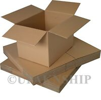 25 10x6x4 Cardboard Shipping Boxes Corrugated Box Cartons Expedited Ship on sale