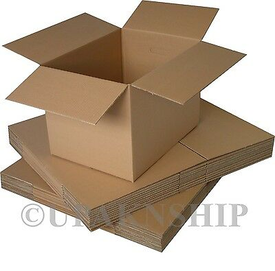25 8x6x4 Cardboard Shipping  Boxes Corrugated Box Cartons EXPEDITED SHIP