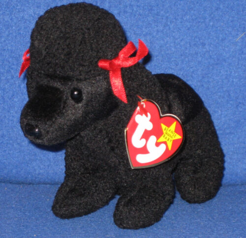 MINT with MINT TAGS TY GIGI the POODLE  BEANIE BABY