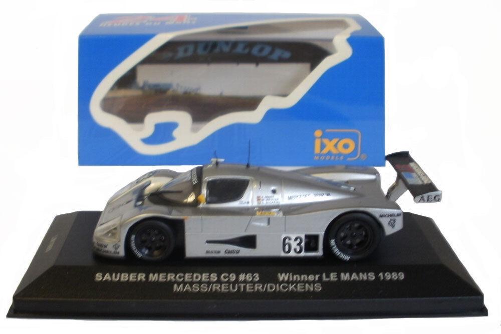 IXO LM1989 Sauber Mercedes C9 Le Mans Winner 1989 - 1 43 Scale
