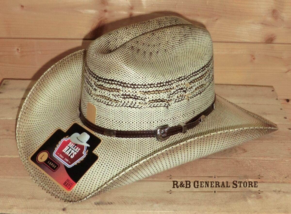Westernhut Buster Gr. S - M Neu USA Cowboy Hut Stroh Western Hüte