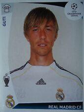 Panini 166 Guti Real Madrid UEFA CL 2009/10