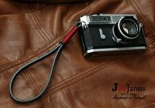 Handmade Camera Leather Wrist Strap | Leica X1 Fuji X100 X-E1 Lumix G Olympus EP