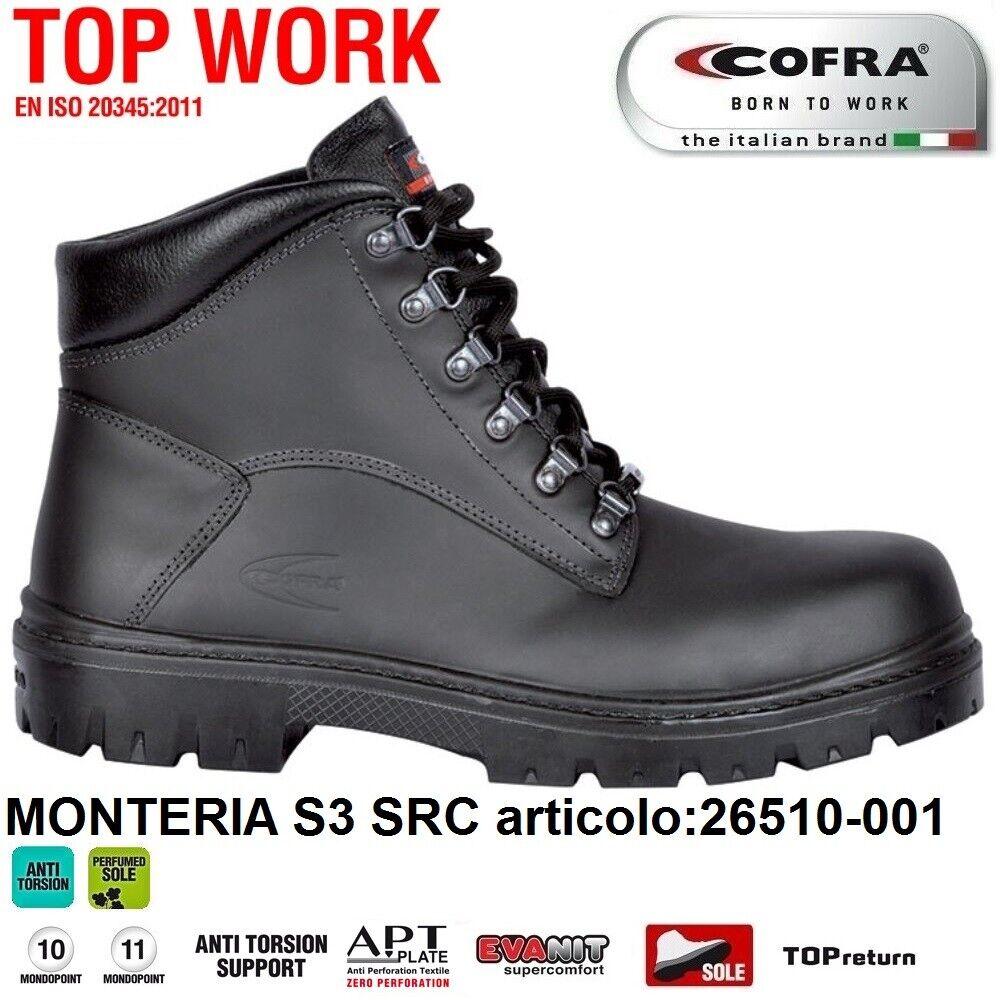 Cofra Scarpe Antinfortunistiche Monteria S3