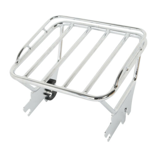 Detachables 2 Up Luggage Rack For Harley Touring Electra Street Glide 1997-2008