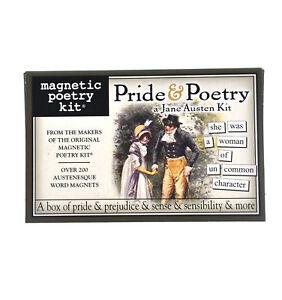 Stolz-und-Poesie-ein-Jane-Austen-Satz-Kuehlschrankmagnet-Set-Kuehlschrank