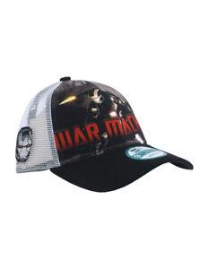 New Era War Machine 9forty Adjustable Hat Marvel Heroes Iron Man 3 ... a5e0d7e3afc6