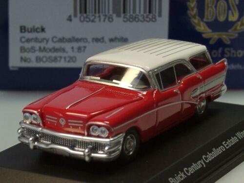 87120-1:87 Bos buick century caballero rojo//blanco