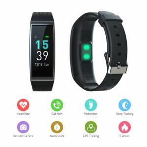 obqo Montre Connect/ée Femmes Homme Smartwatch Fitness Tracker dActivit/é avec Cardiofr/équencem/ètres Moniteur de Sommeil,R/éveil,Notifications,Bluetooth Podom/ètre /Étanche IP67 pour iOS Android