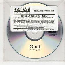 (GW616) The Long Blondes, Guilt - 2008 DJ CD