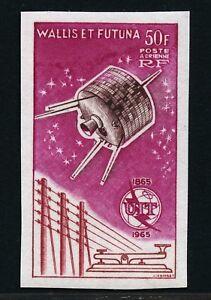 Wallis-et-Futuna-1965-uit-UIT-Satellite-spatiale-space-espace-207-U-Imperf-Neuf-sans-charniere