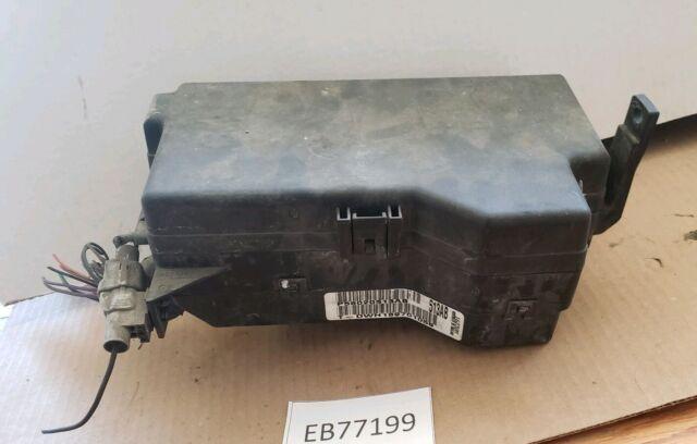 1998 1999 2000 2001 Dodge Ram Under Hood Relay Fuse Panel Box Block Gas V8 Oem