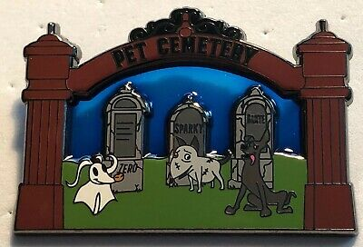NIGHTMARE FRANKENWEENIE COCO DISNEY DOGS PET CEMETERY EMBROIDERED IRON ON PATCH