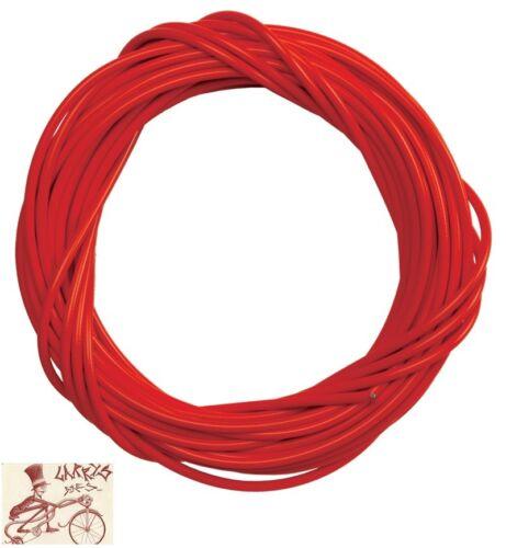 Roll environ 15.24 m 50 Ft Sunilte Doublure 5 mm Rouge Vélo Frein logement avec liner