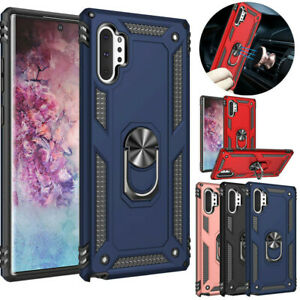 For-Samsung-Galaxy-Note-10-Plus-5G-Shockproof-Magnetic-Ring-Holder-Stand-Case
