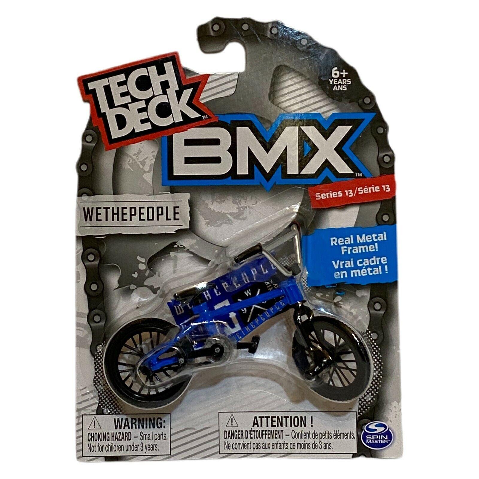 Tech Deck Wethepeople Bmx Dirt Finger Bike Neon Green Toy Series 2 For Sale Online Ebay