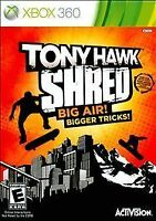 Tony Hawk: Shred (Microsoft Xbox 360, 2010)