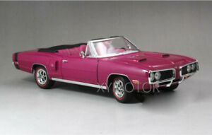 1-18-1970-DODGE-CORONET-R-T-Road-Signature-Diecast-Model-Car-Toys-Gifts-Purple