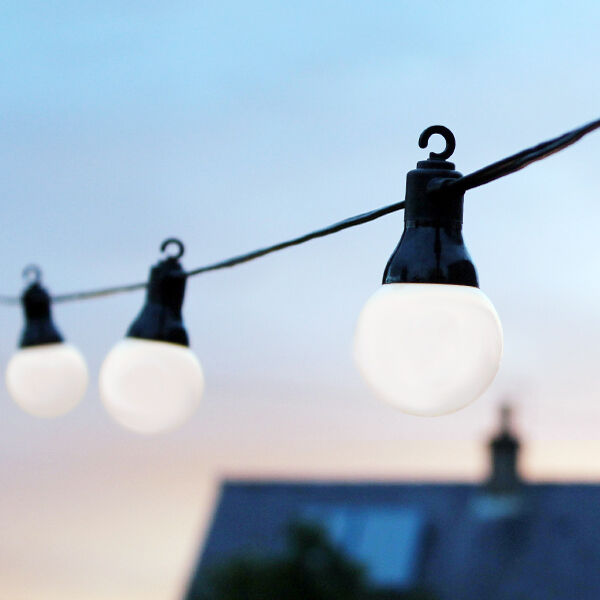 Outdoor Festoon LED Party Lights for Wedding, Garden, Christmas, Globe - IP44