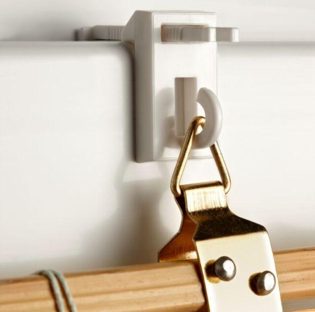 Easyfix Bambusträger 2 Stück / Klemmhalter Klemmfix für Bambusrollo Raffrollo
