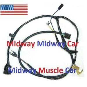 engine wiring harness chevy pickup truck suburban 63 64 65