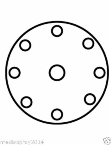 10 pezzi Dischi abrasivi per LEVIGATRICI con platorello Velcro da P40 a P800
