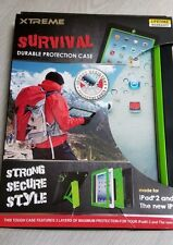 New iPad 2 or The New i Pad Xtreme Survival Tablet Case Black & Green