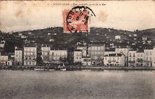 GOLFE-JUAN 6 vue générale prise de la mer timbrée 1910