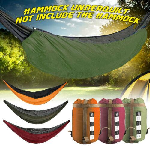 Hammock Underquilt Ultralight Camping Hiking Under Quilt Warm Blanket Outdoor US