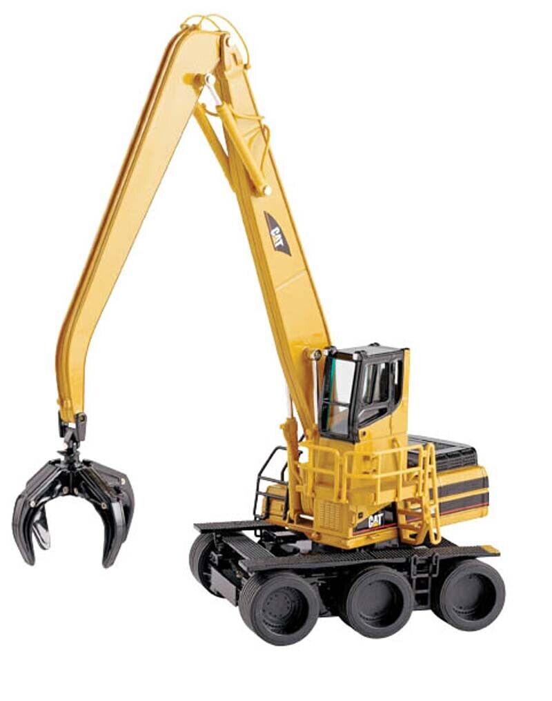 Cat  W345B Series II Roues matériel Handler 3 essieux 1 50 Die-Cast Comme neuf IN BOX  70% de réduction