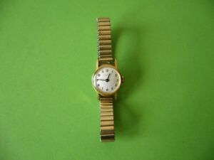 Damen-Armbanduhr-Junghans-15-Jewels-Handaufzug-Stainless-Steel-Back-Shockproof
