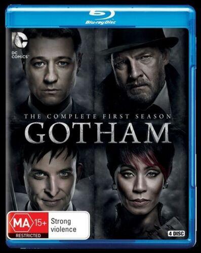 1 of 1 - Gotham : Season 1 (Blu-ray, 2015, 4-Disc Set) - Brand New/Sealed
