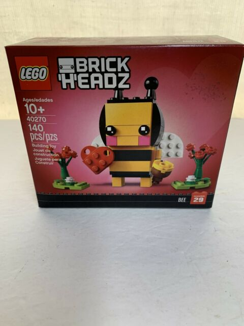 LEGO 40270 Brickheadz Seasonal Bee Valentine/'s Day Brand New sealed