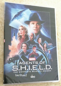 Agents-of-Shield-Season-7-3-Disc-Set-DVD-New-amp-Sealed-Free-Shipping-US-Seller