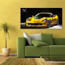 2015 CHEVROLET CORVETTE STINGRAY Z06 CHEVY VETTE LARGE CAR POSTER 24x48in