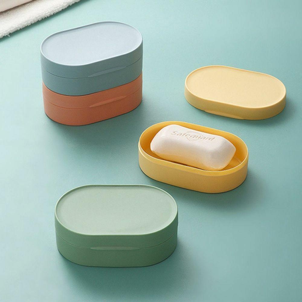 Soap Box Dish Holder Container Case Travel Holiday Caravan Camping Reusable Hot