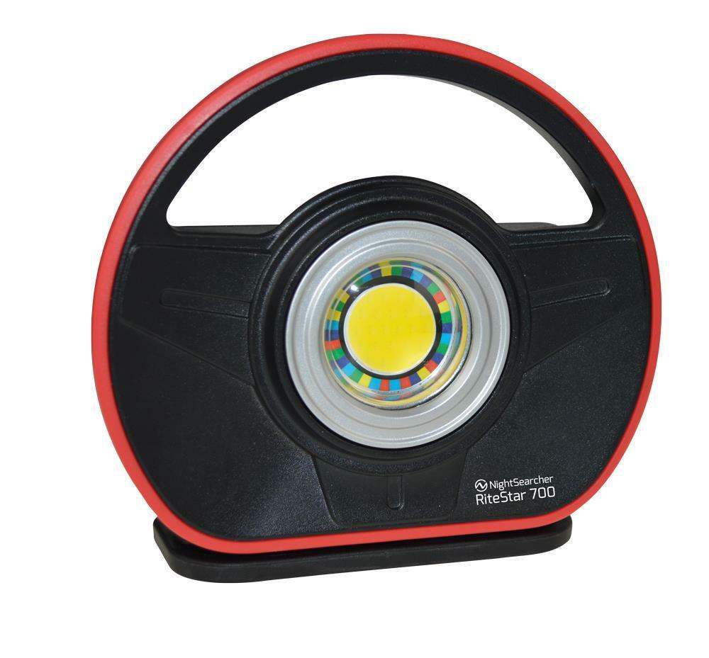 NightSearcher RiteStar 700 - Rechargeable Colour Match Work Light (95 CRI)