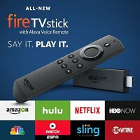 Firestick Amazon Fire Tv Stick & Alexa Voice Remote Streaming Media Player