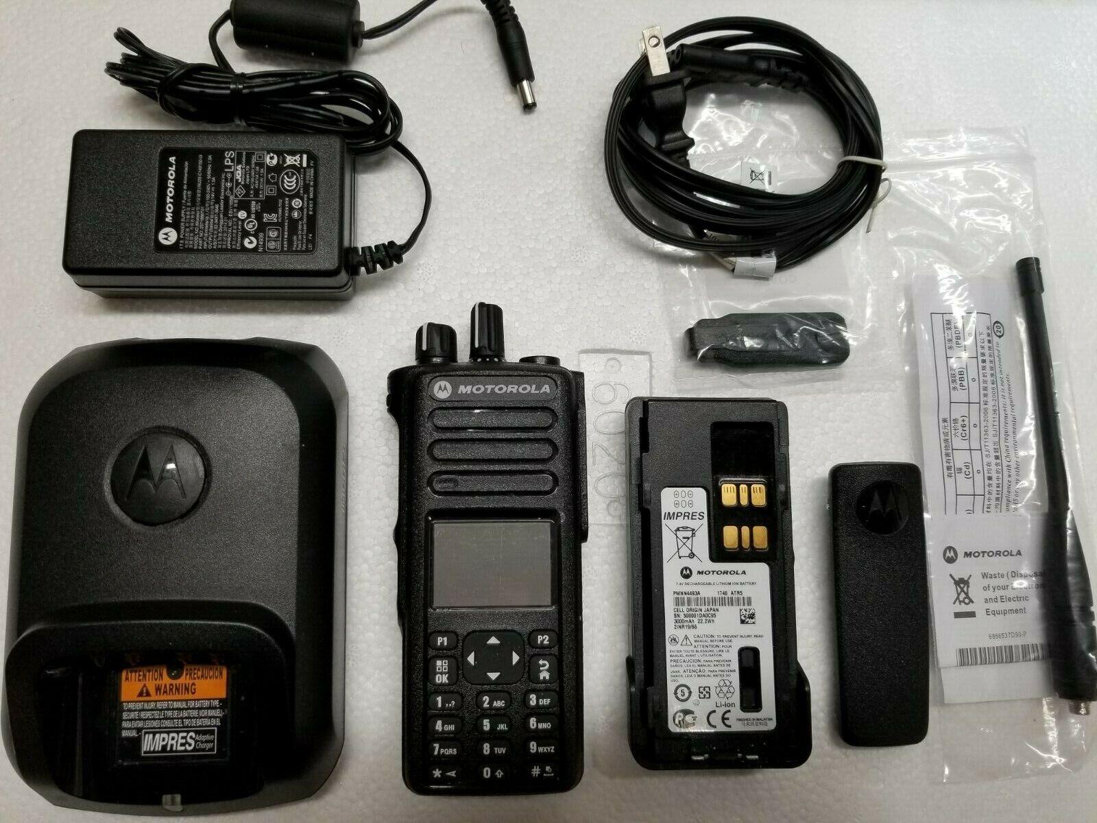 Motorola MotoTRBO XPR7550 UHF 403-512mhz Digital Radio AAH56RDN9KA1AN XPR. Buy it now for 450.00