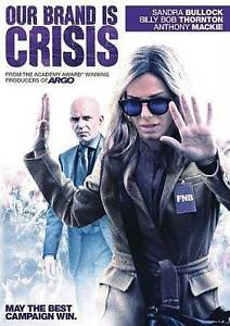 Our Brand Is Crisis (DVD, 2016)