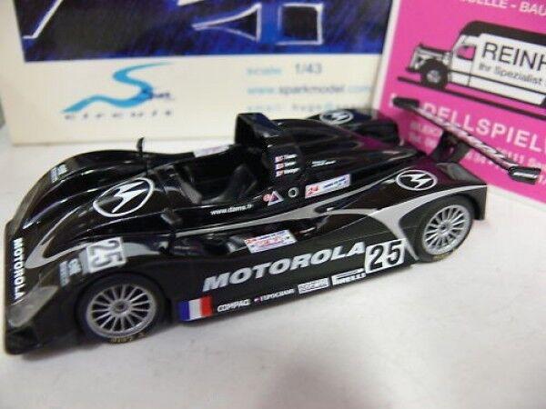 1 43 spark scla 02 Lola t98 10 Motorla  25 Le Mans'99